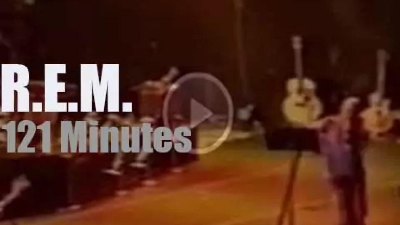R.E.M.are 'Monster' in Perth (1995)