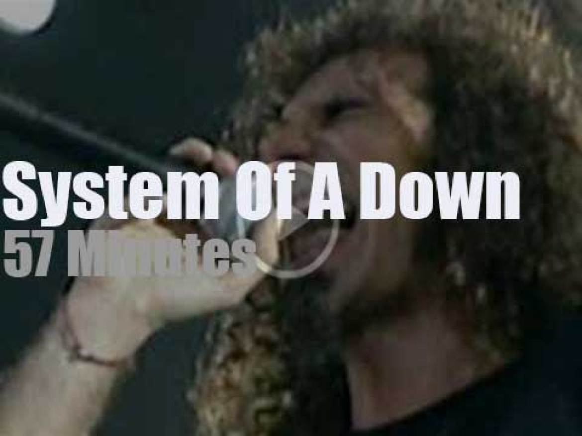 System Of A Down  travel to Australia (2005)
