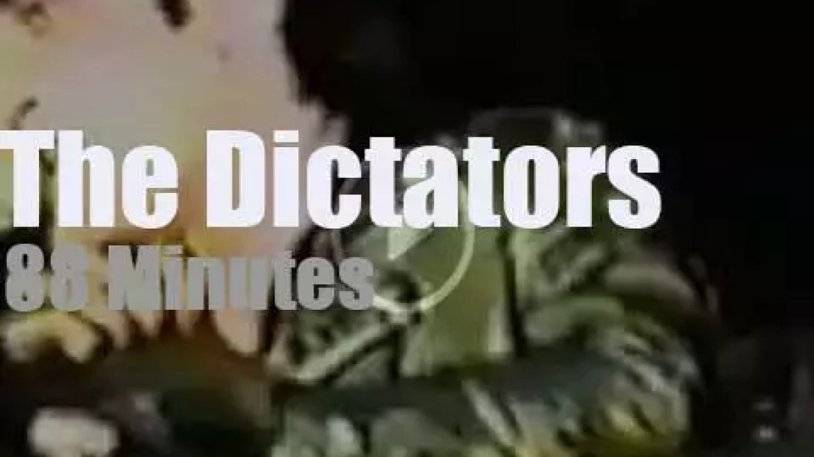 The Dictators rule over New-York City (1986)