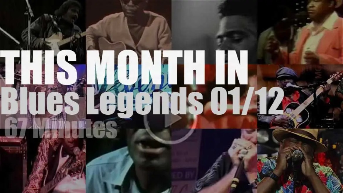 This month In Blues Legends 01/12