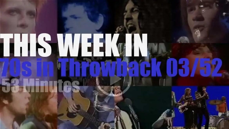 This week In '70s Throwback' 03/52