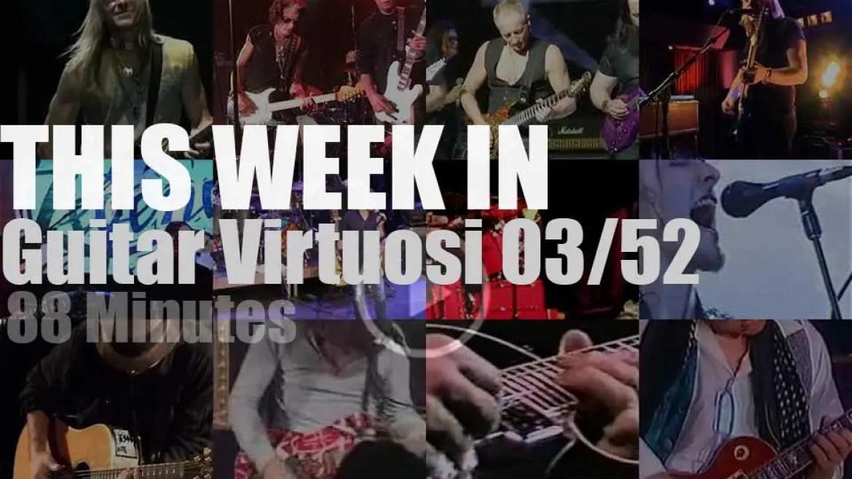 This week In Guitar Virtuosi 03/52
