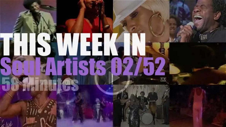 This week In Soul Artists 02/52