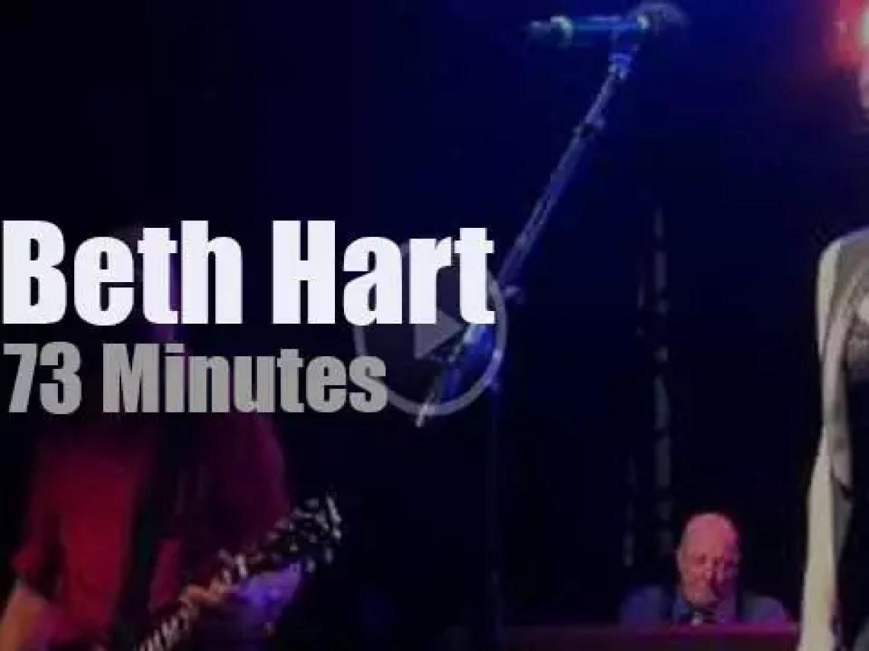 Beth Hart sings brand new songs in LA (2015)