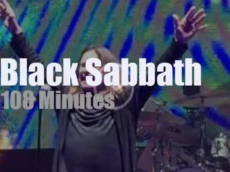 Black Sabbath declare 'The End' at the Garden (2016)