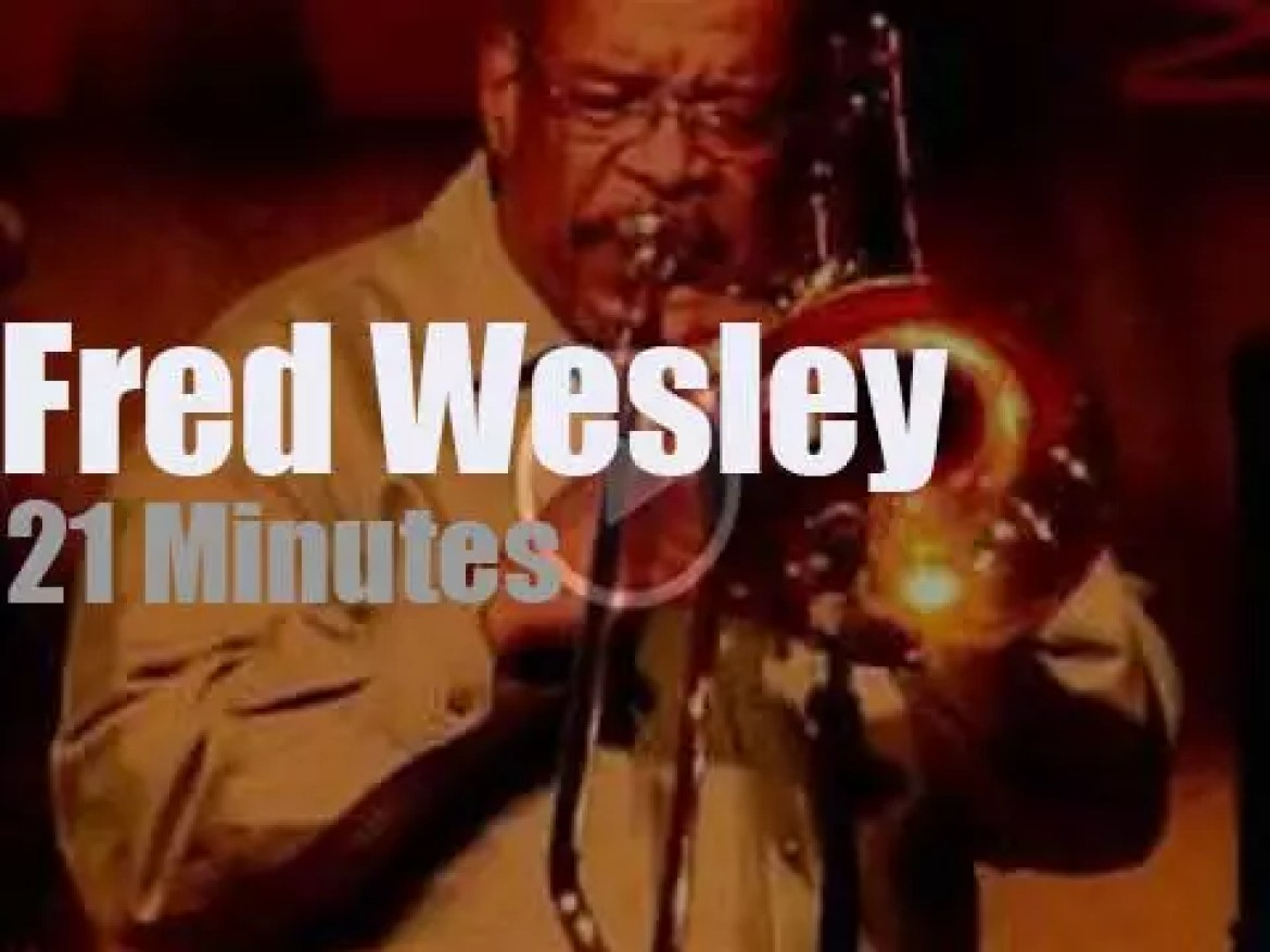 Fred Wesley brings the Froomees to Paris (2011)