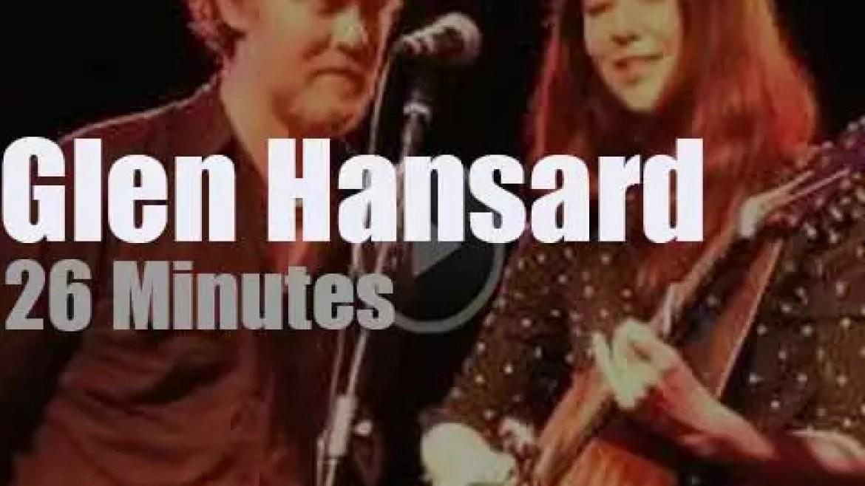 Glen Hansard visit Italy with Lisa Hannigan (2013)