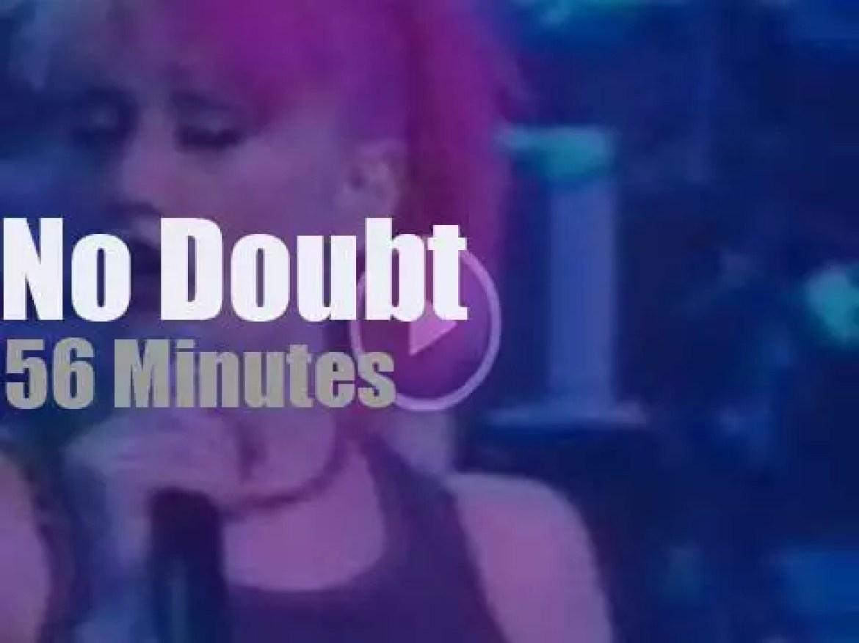 No Doubt  'skaify' Hambourg (2000)