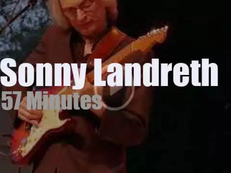 Sonny Landreth attends a Blues Festival in Florida (2019)