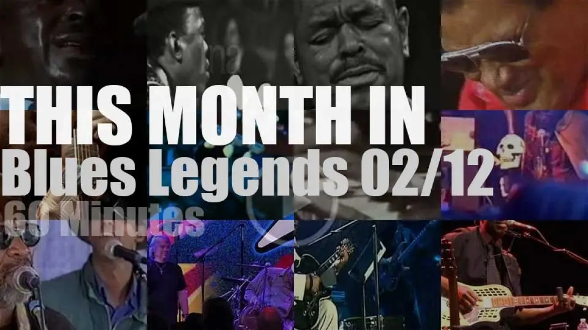 This month In Blues Legends 02/12
