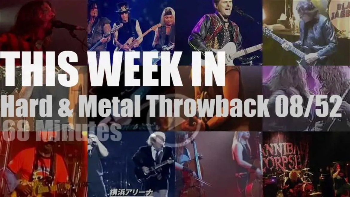 This week In  'Hard & Metal Throwback'  08/52