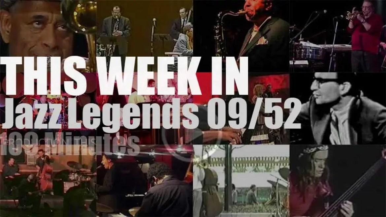 This week In Jazz Legends (special sax & trumpet) 09/52