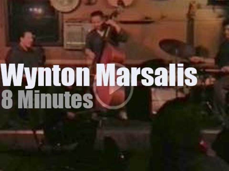 Wynton Marsalis performs  in Seattle (2014)