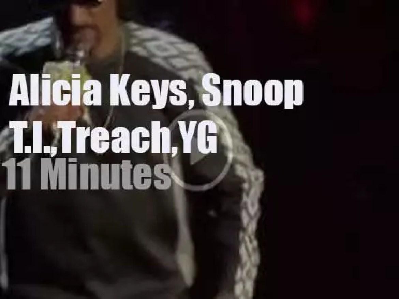 Alicia, Snoop, T.I. et al celebrate Tupac (2017)