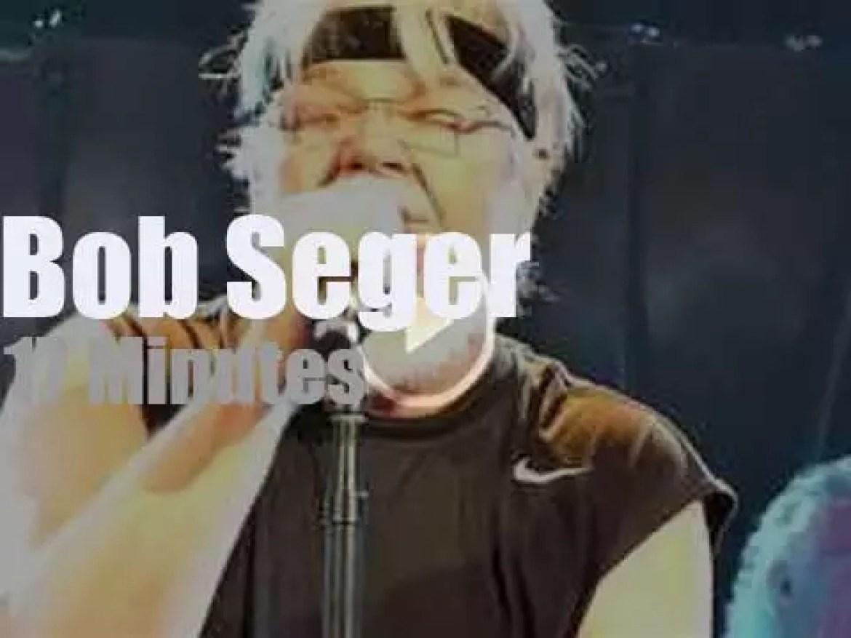 Bob Seger takes the Silver Bullet Band to Cincinnati (2011)