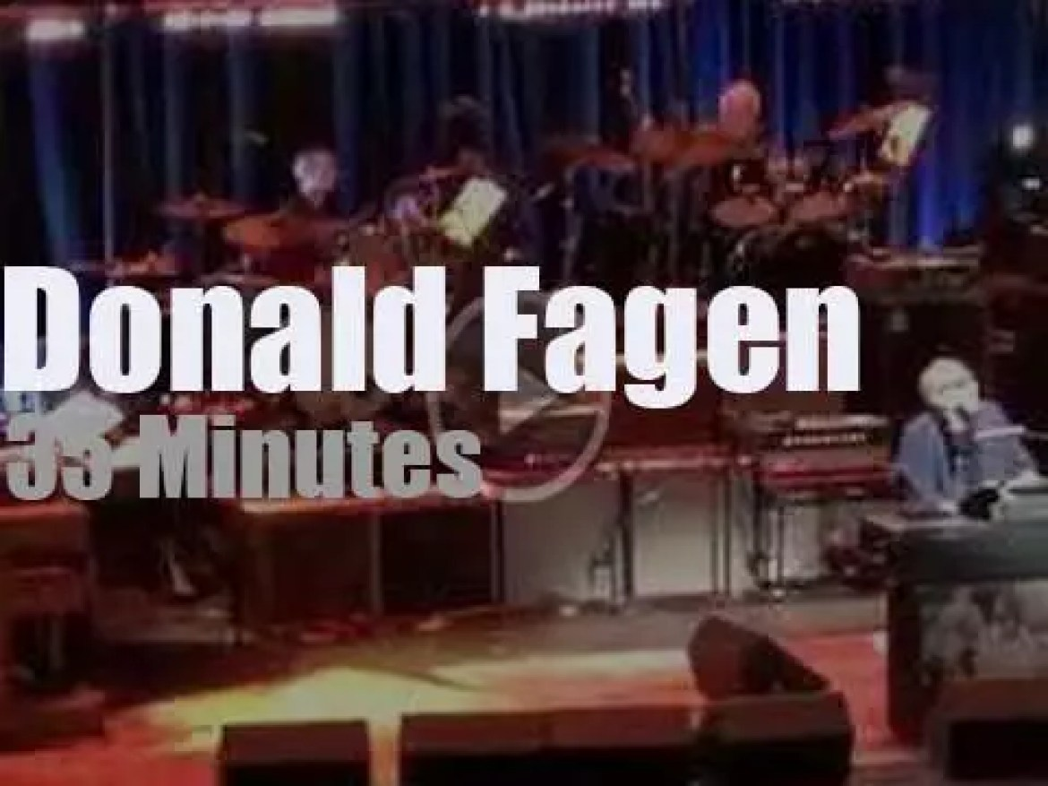 Donald Fagen front a 'Dream Team' band (2019)