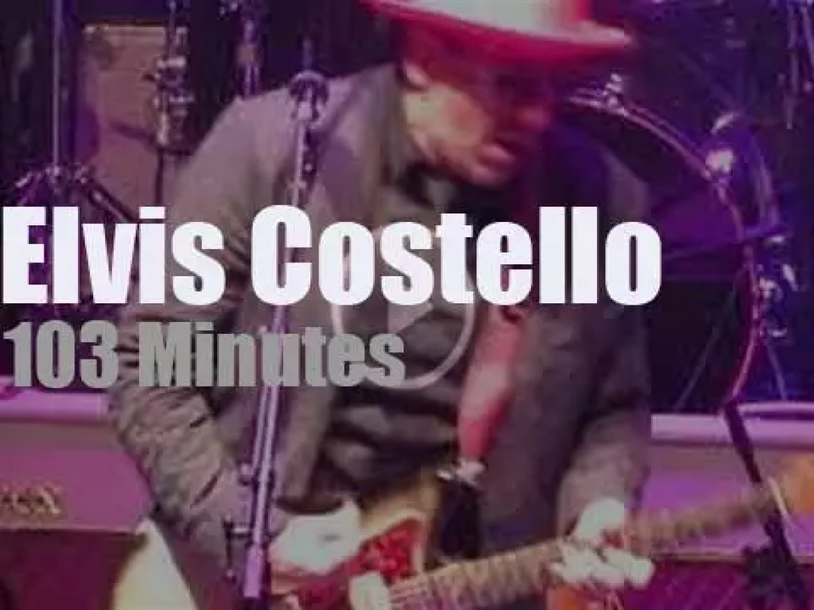 Elvis Costello takes The Imposters to New Jersey (2018)