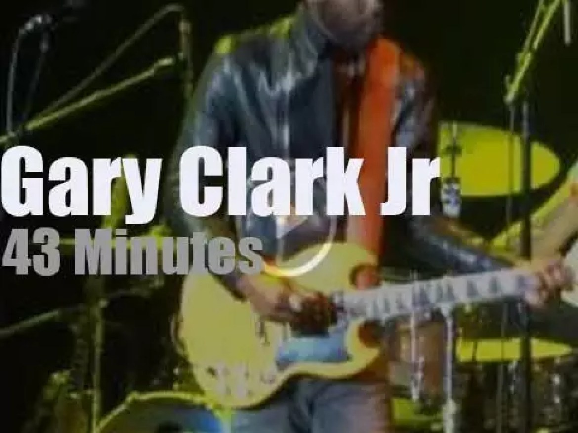 Gary Clark Jr opens for Clapton in NYC (2017)