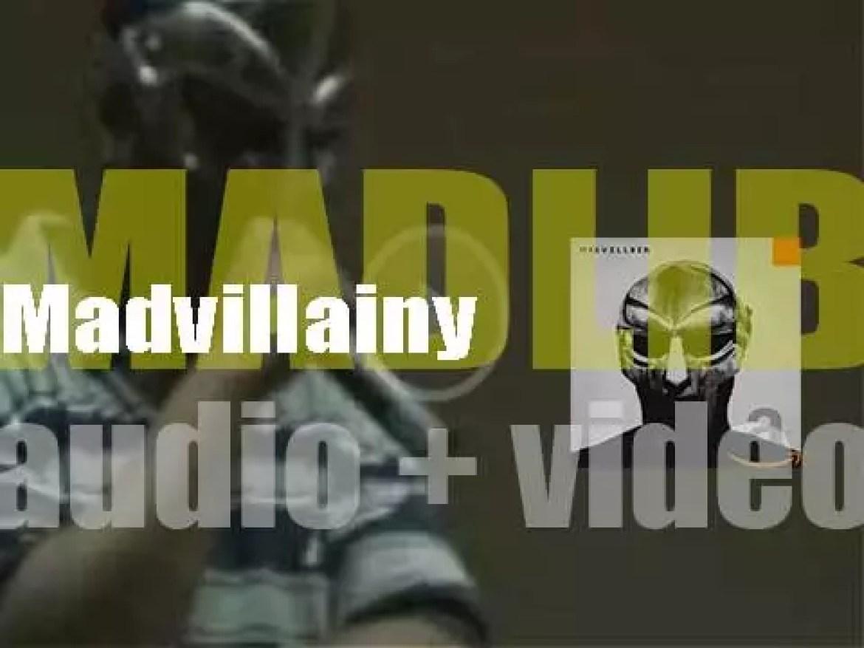 Stones Throw publish Madvillain's debut album : 'Madvillainy' produced by members MF Doom and Madlib (2004)
