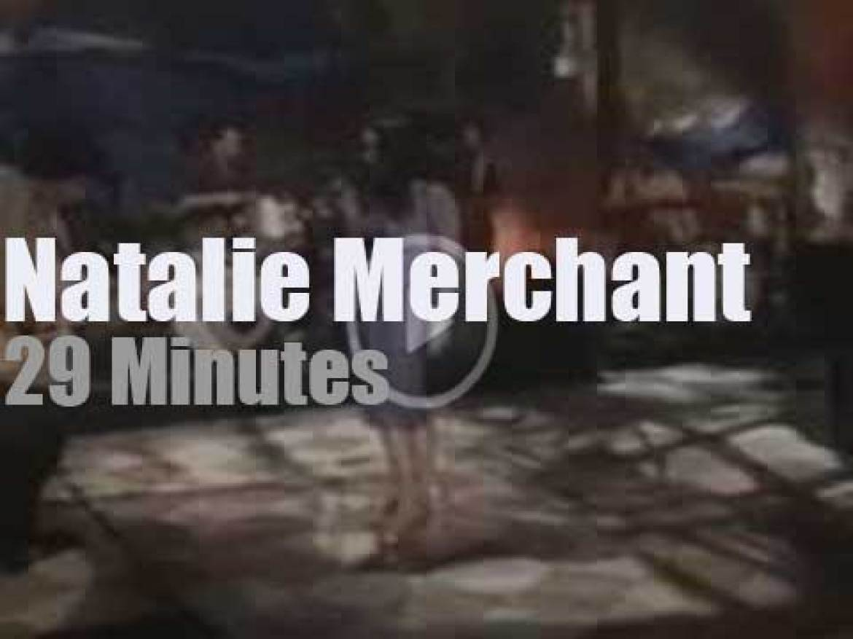 On TV Today, Natalie Merchant At VH1 'Hard Rock Live' (1999)