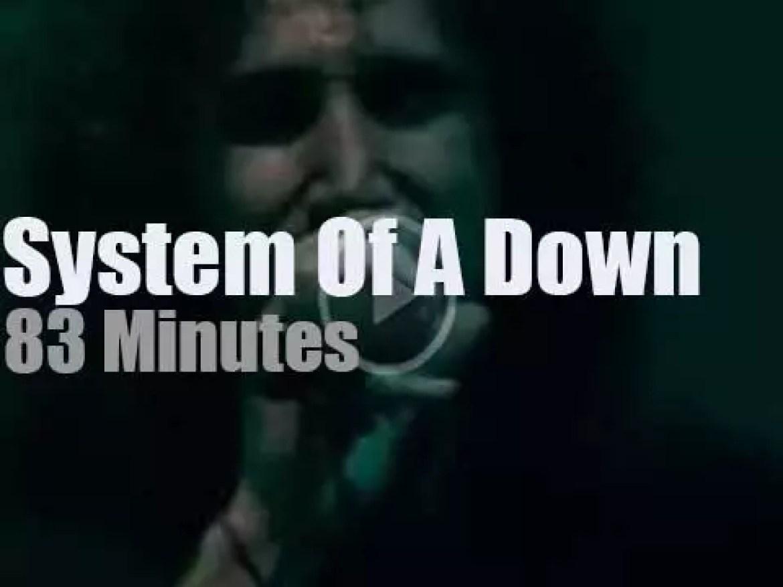 System of a Down  'Mezmerize & Hypnotize' London (2005)