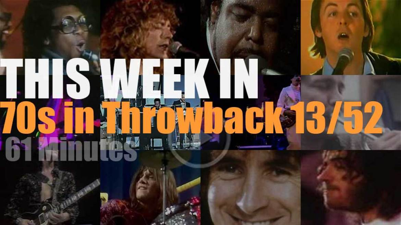 This week In  '70s Throwback' 13/52
