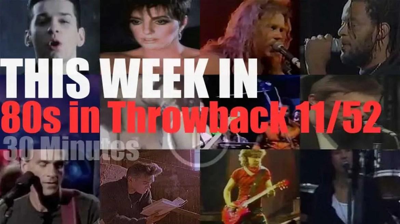 This week In '80s Throwback' 11/52
