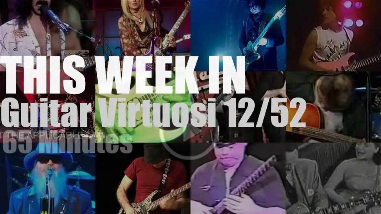 This week In Guitar Virtuosi 12/52