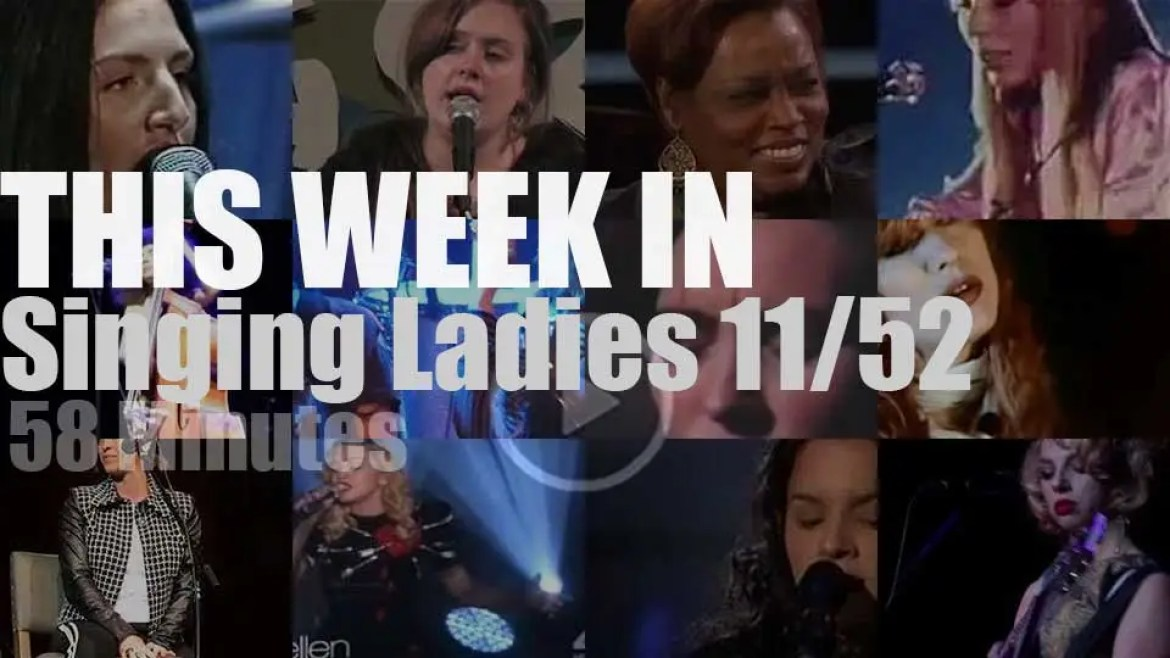 This week In Singing Ladies 11/52