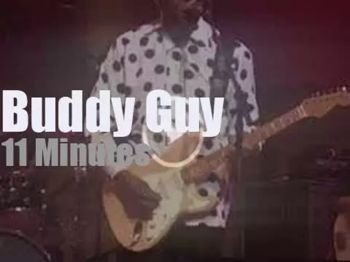 Buddy Guy returns to Vancouver… after 30 years (2019)