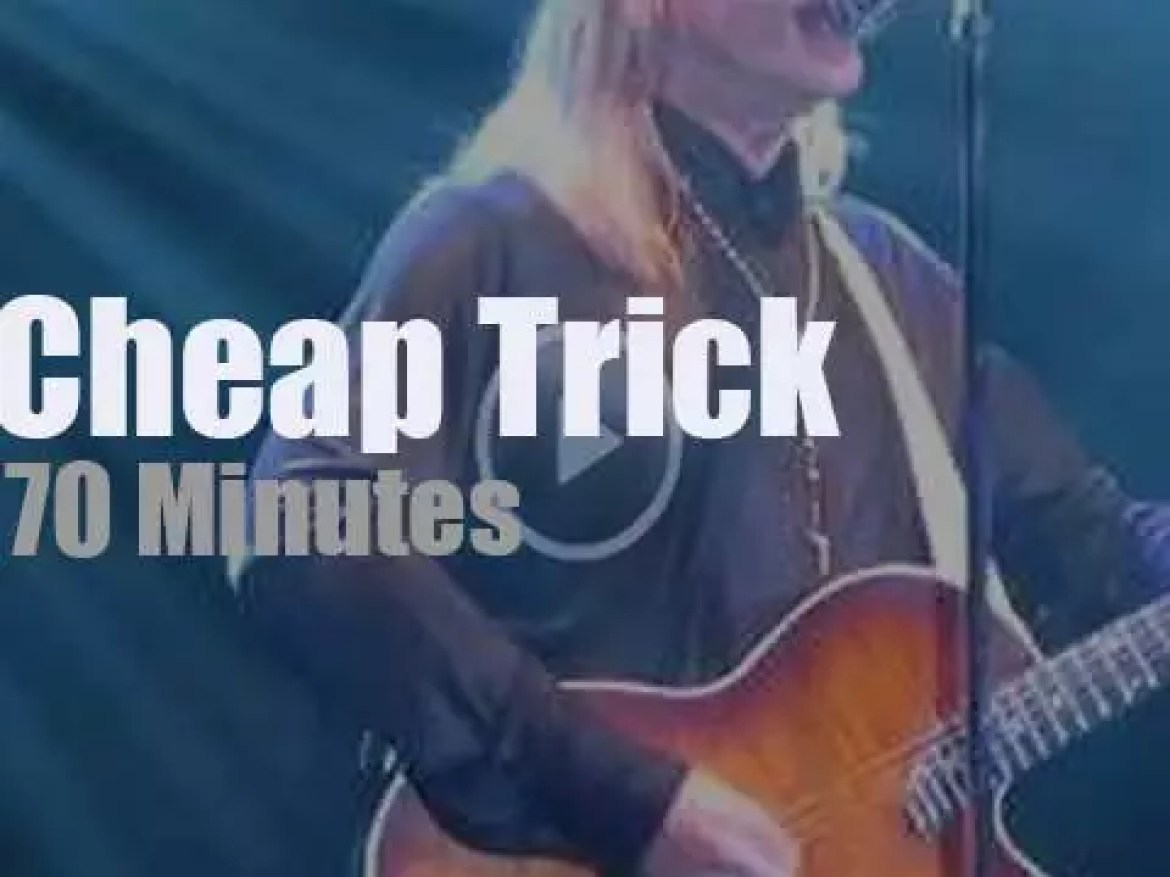 Cheap Trick perform in Connecticut (2018)