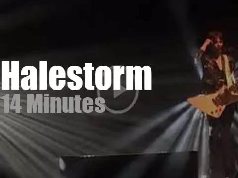 Halestorm rock Calgary (2019)