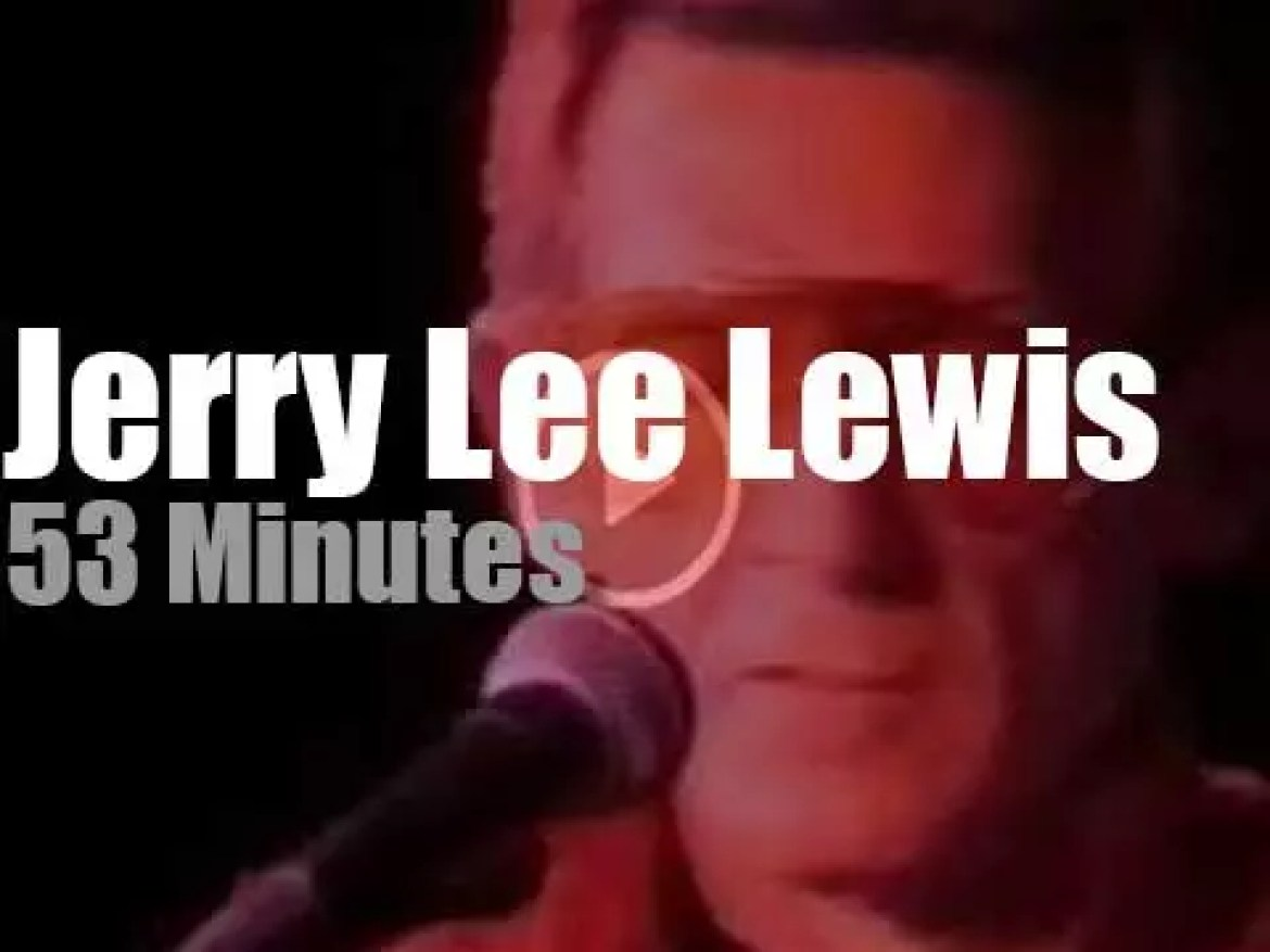 Jerry Lee Lewis rocks Toronto (1987)