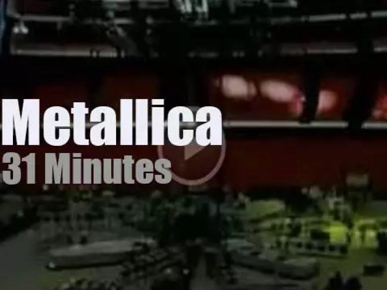 Metallica serenade Stockholm (2009)