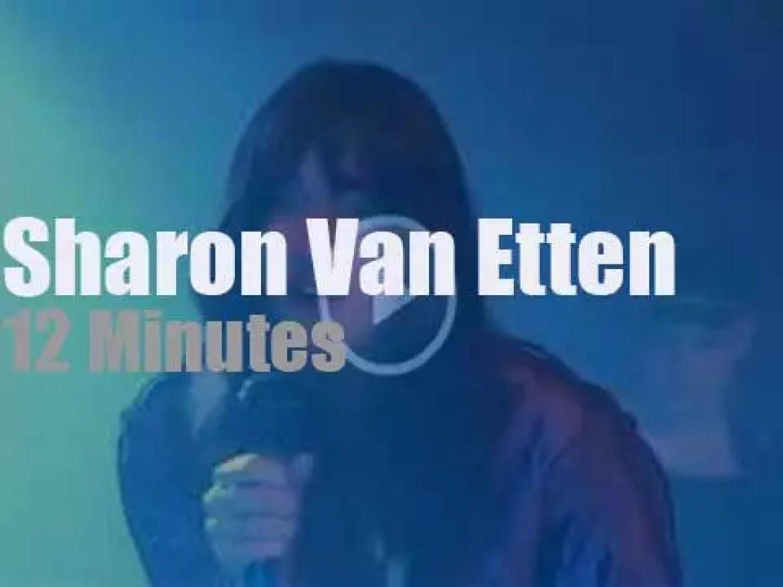 Sharon Van Etten closes her euro tour in Stockholm (2019)