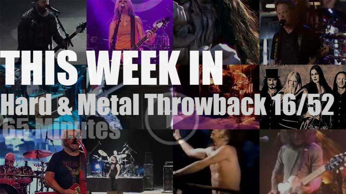 This week In  'Hard & Metal Throwback'  16/52