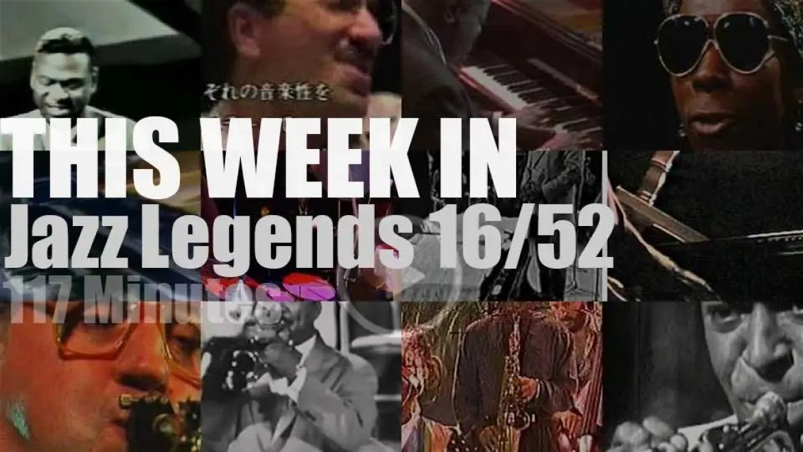 This week In Jazz Legends (Special Pianists) 16/52