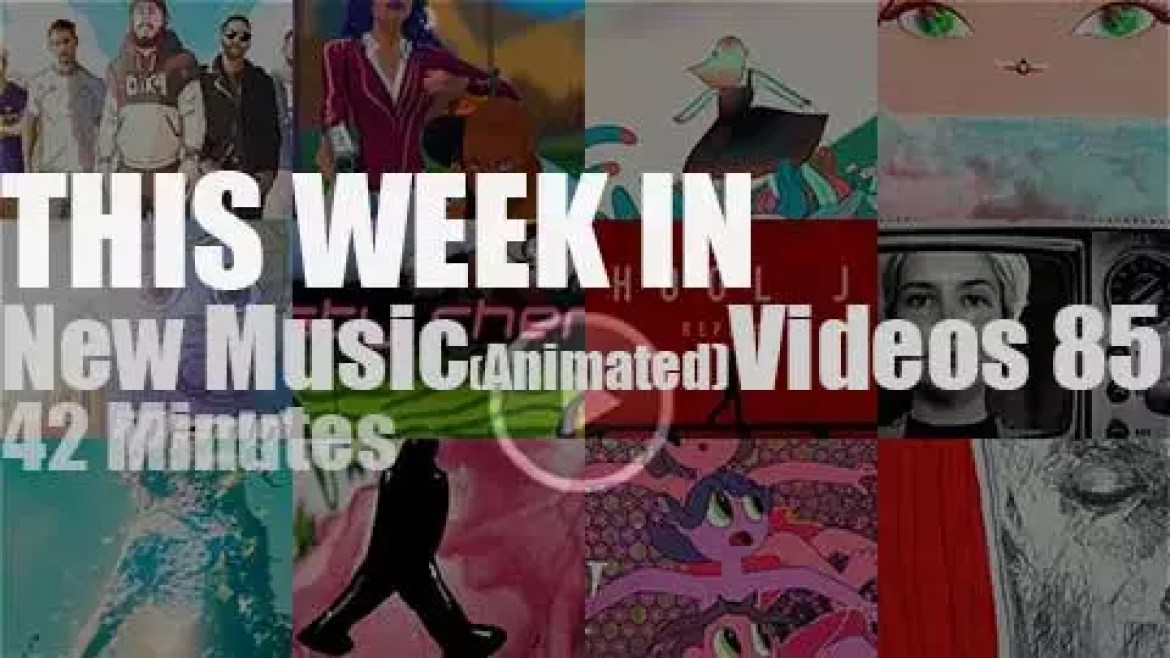 This week In New (Animated) Music Videos 85
