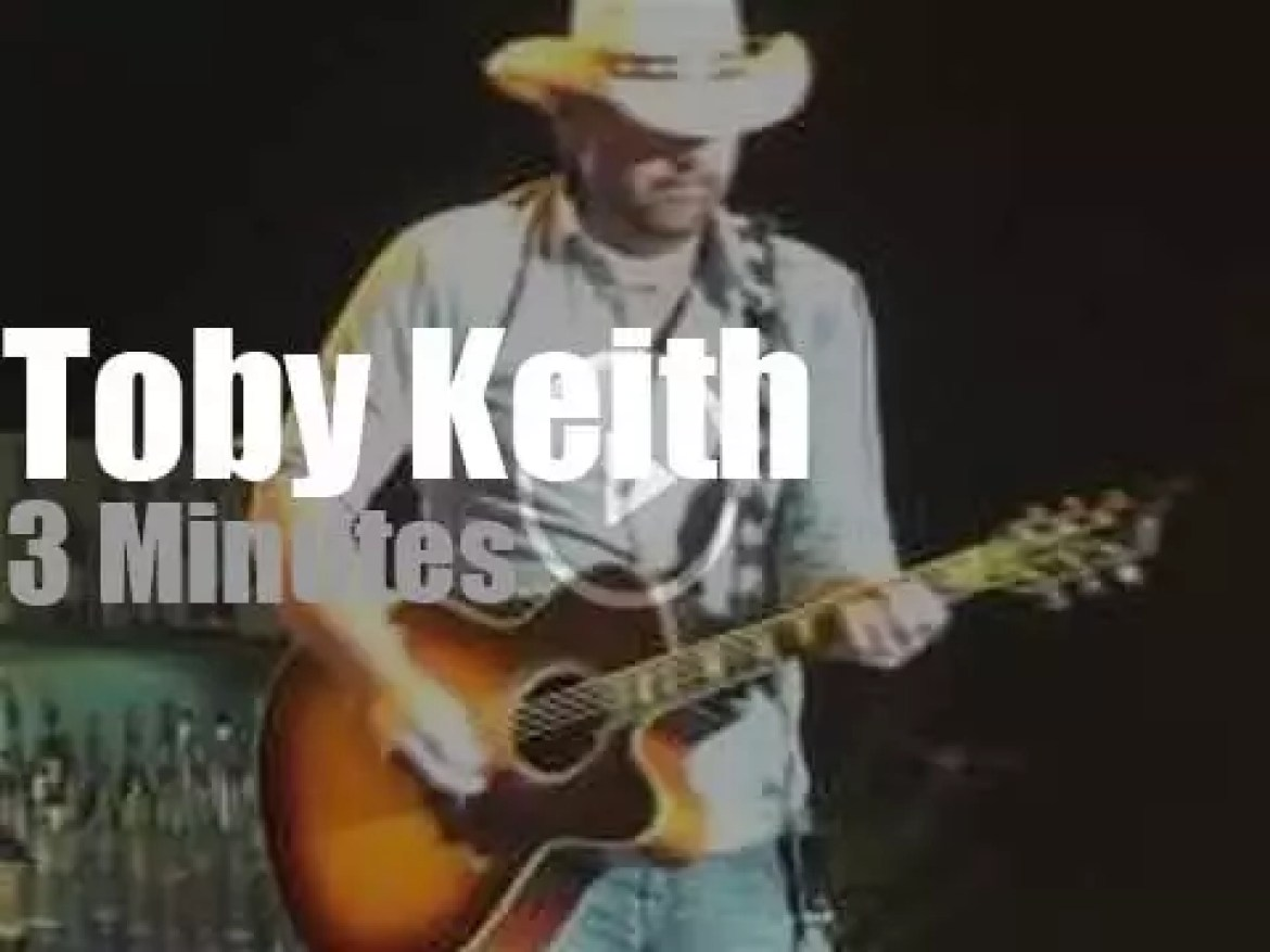 Toby Keith pays a tribute to George Jones  (2013)