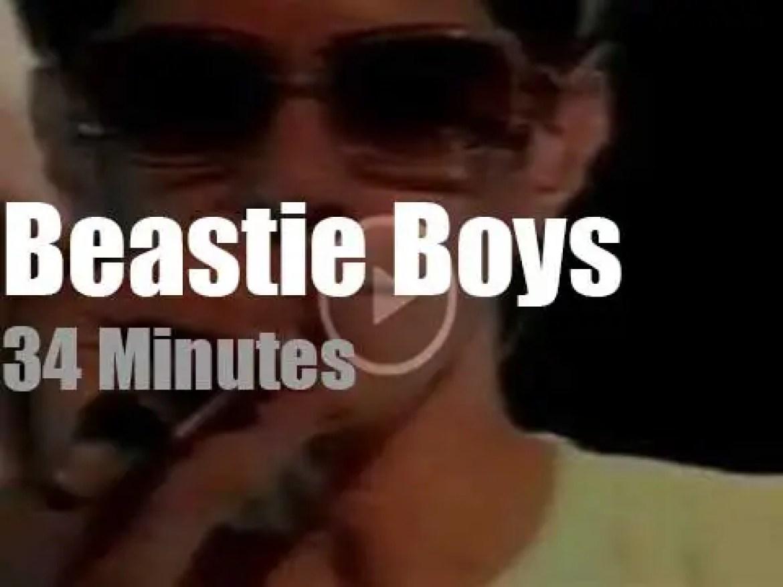 Beastie Boys expose 'To the 5 Boroughs' in  Paris (2004)