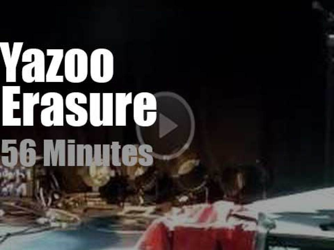 Erasure and Yazoo attend the Mute festival (2011)