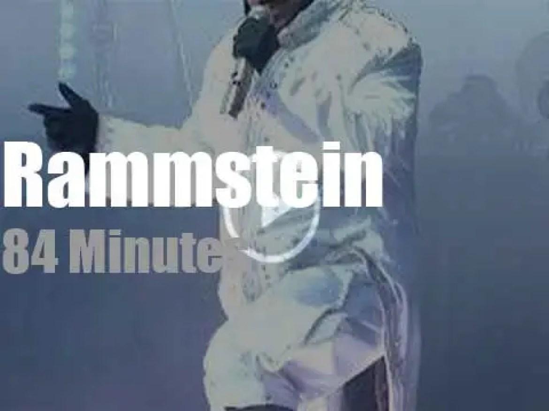 Rammstein visit Prague (2017)
