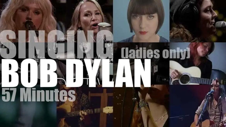 Singing (Ladies only)  Bob Dylan