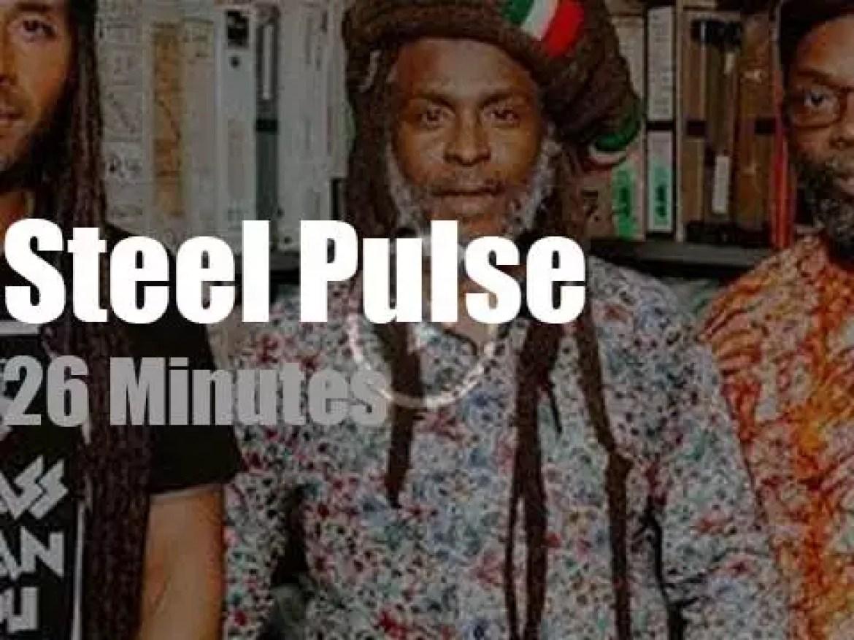Steel Pulse perform at Paste Studios (2019)