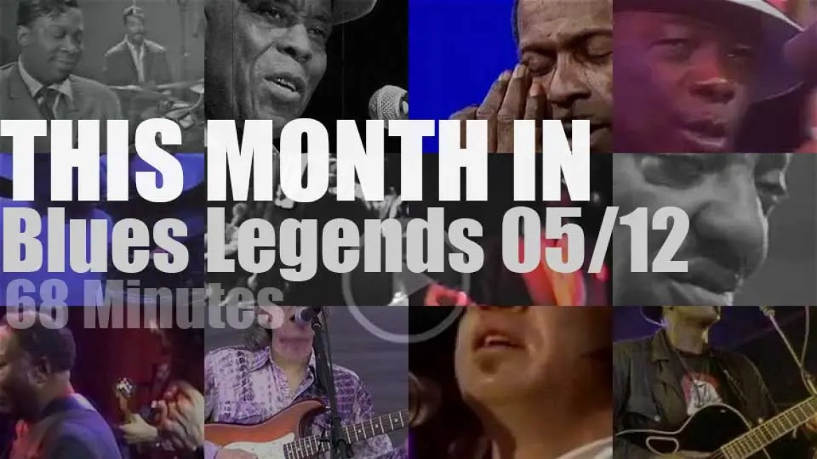 This month In Blues Legends 05/12