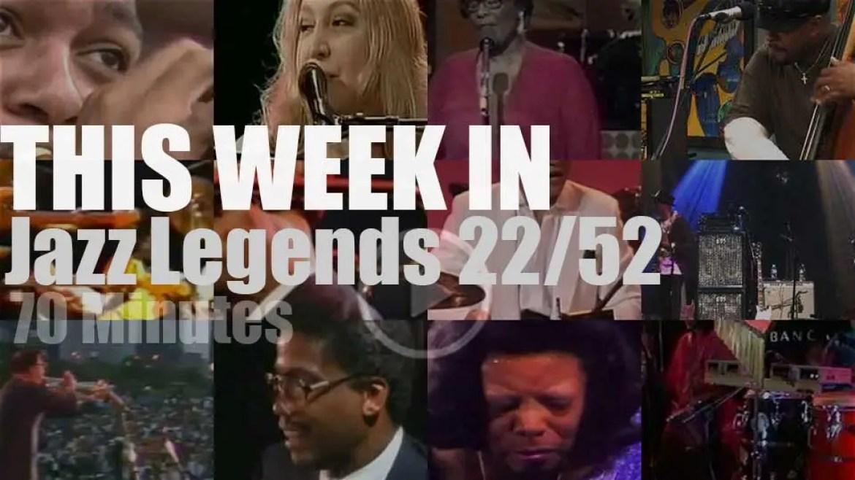 This week In Jazz Legends 22/52