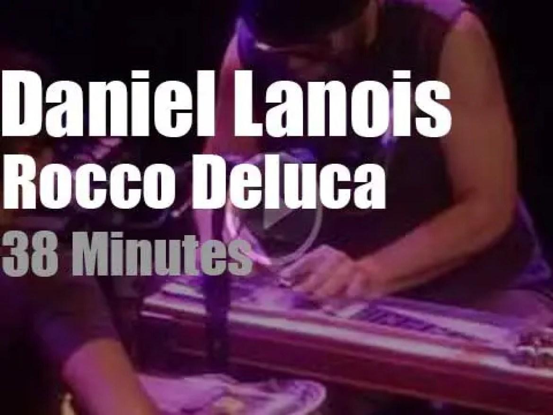 Daniel Lanois meets Rocco DeLuca in San Francisco (2017)
