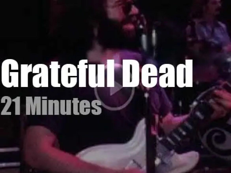 Grateful Dead come to New-York City (1976)