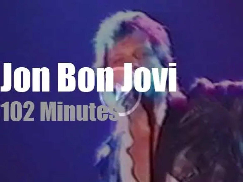 Jon Bon Jovi visits Paris on his own (1997)
