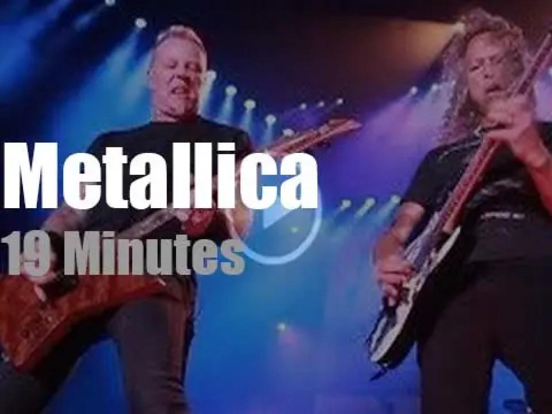 Metallica serenade Iowa (2017)